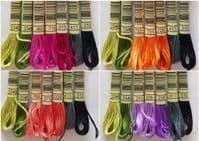 Lakeside Needlecraft Mackintosh Roses Blackwork PDF cross stitch chart & kit options